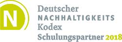 Deutscher Nachhaltigkeitskodex - Schulungspartner 2018