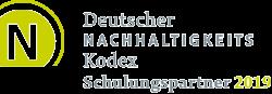 Deutscher Nachhaltigkeitskodex - Schulungspartner 2019