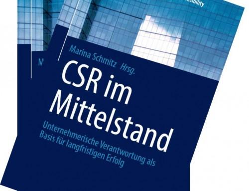 """Neuer Sammelband """"CSR im Mittelstand"""" mit drei Fährmannbeiträgen erschienen"""